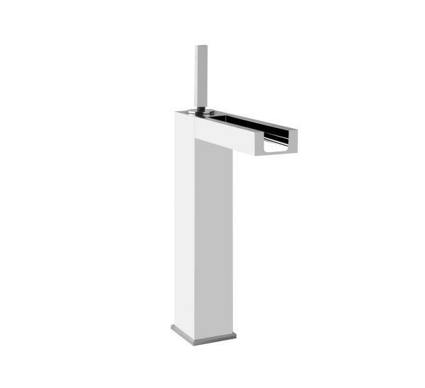 Gessi-Rettangolo-Colour-11985-High-Version-Basin- Joystick-Faucet