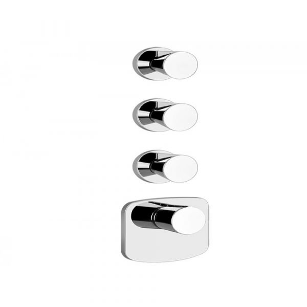 Gessi-Cono-Wellness-43105-45236-Thermostatic-High-Capacity-Faucet-Built-In-Part