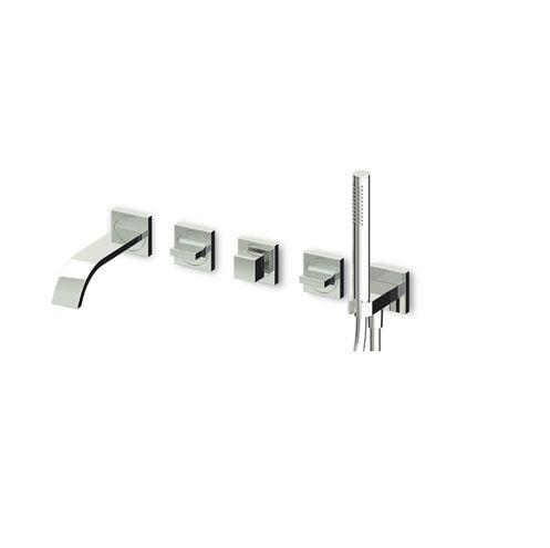 Zucchetti-Aguablu-ZA5745+R99505-Recessed-bath-shower-faucets