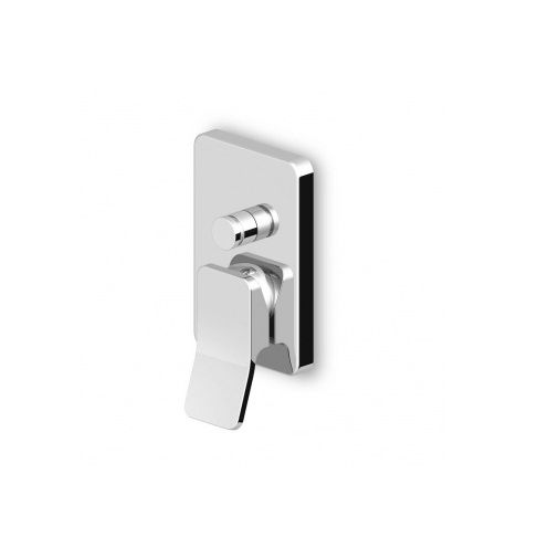 Zucchetti-Soft-ZP7613+R99614-Miscelatore-monocomando-incasso-per-vasca-doccia